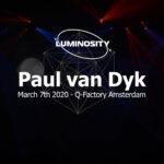Luminosity – Paul van Dyk